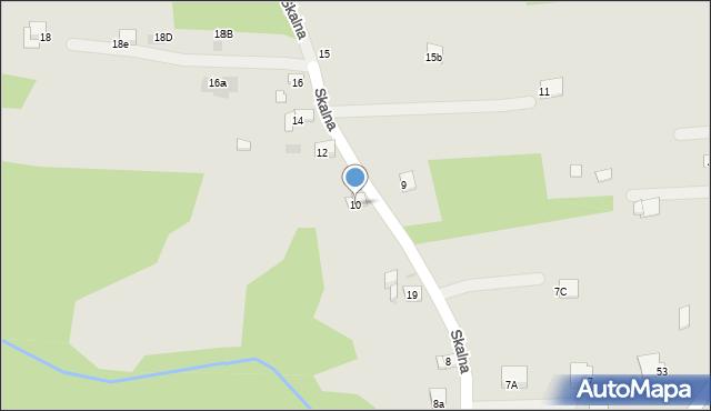 Dobczyce, Skalna, 10, mapa Dobczyce