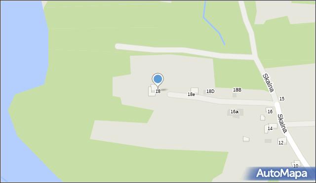 Dobczyce, Skalna, 18, mapa Dobczyce