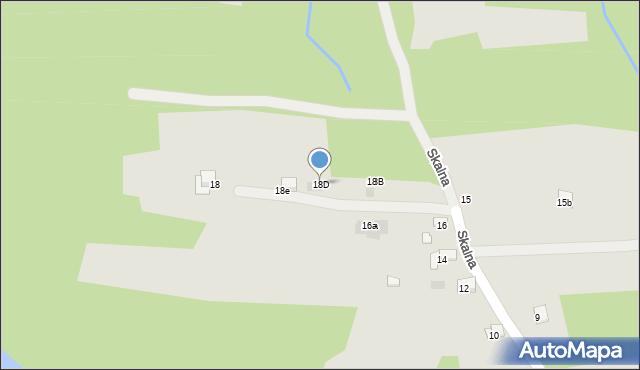Dobczyce, Skalna, 18D, mapa Dobczyce