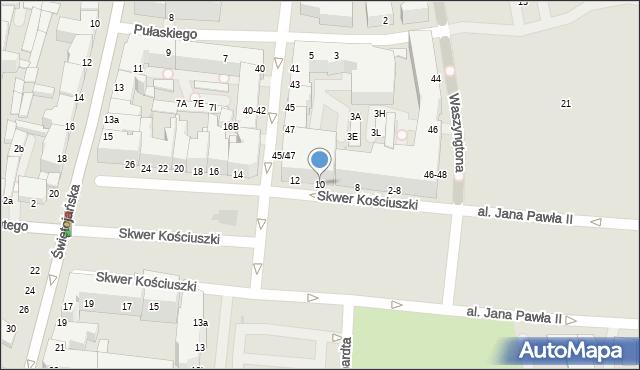 Gdynia, Skwer Kościuszki Tadeusza, gen., 10, mapa Gdyni