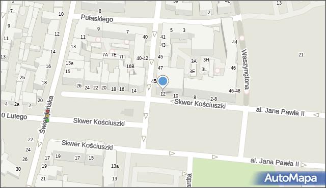 Gdynia, Skwer Kościuszki Tadeusza, gen., 12, mapa Gdyni