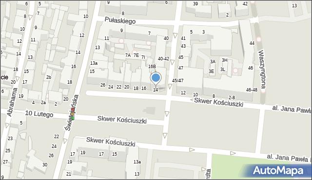 Gdynia, Skwer Kościuszki Tadeusza, gen., 14, mapa Gdyni