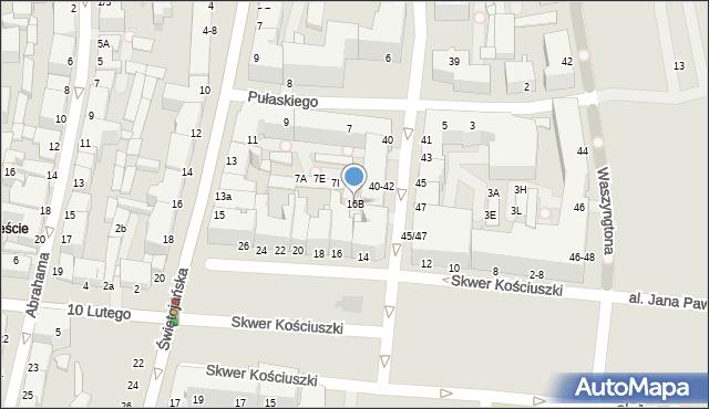 Gdynia, Skwer Kościuszki Tadeusza, gen., 16B, mapa Gdyni
