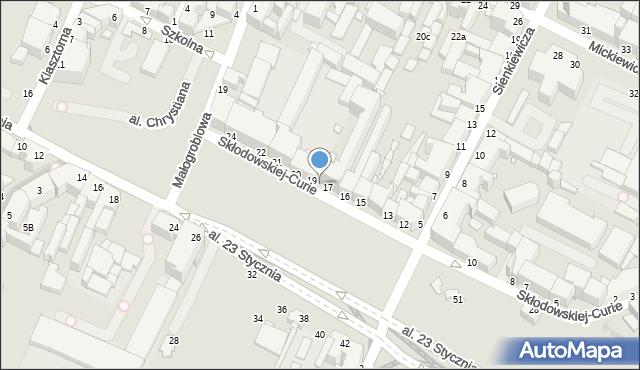 Grudziądz, Skłodowskiej-Curie Marii, 18, mapa Grudziądza