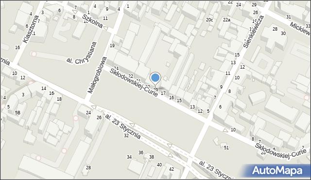 Grudziądz, Skłodowskiej-Curie Marii, 19, mapa Grudziądza
