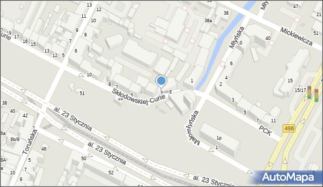 Grudziądz, Skłodowskiej-Curie Marii, 2, mapa Grudziądza
