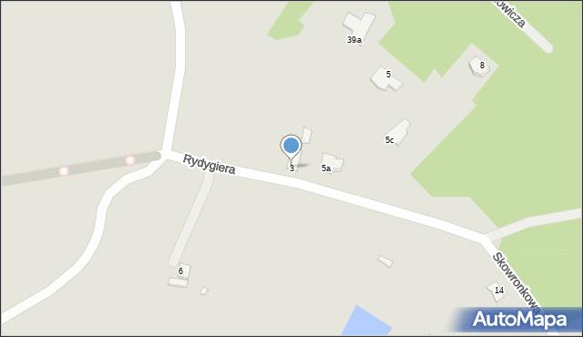 Grudziądz, Skowronkowa, 3, mapa Grudziądza