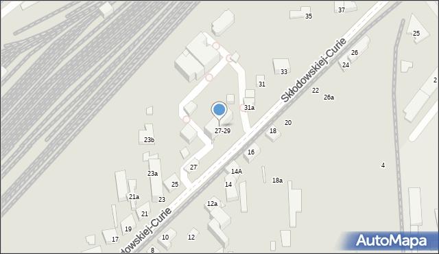 Toruń, Skłodowskiej-Curie Marii, 29, mapa Torunia