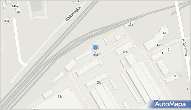 Toruń, Skłodowskiej-Curie Marii, 63d, mapa Torunia