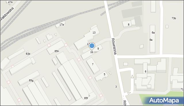Toruń, Skłodowskiej-Curie Marii, 69a, mapa Torunia