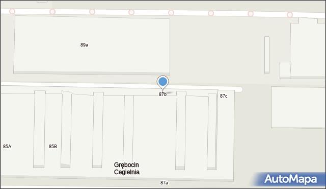 Toruń, Skłodowskiej-Curie Marii, 87b, mapa Torunia