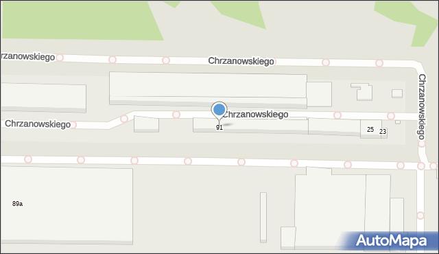 Toruń, Skłodowskiej-Curie Marii, 91, mapa Torunia