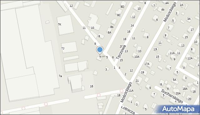 Chełm, Słoneczna, 7, mapa Chełma