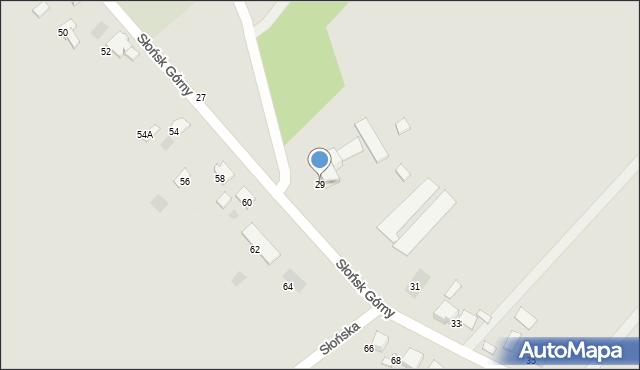 Ciechocinek, Słońsk Górny, 29, mapa Ciechocinek
