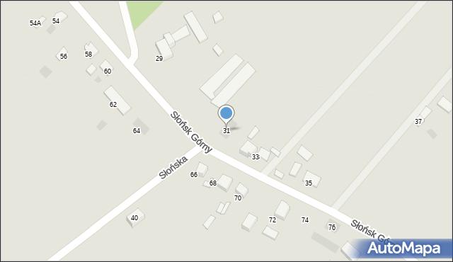 Ciechocinek, Słońsk Górny, 31, mapa Ciechocinek