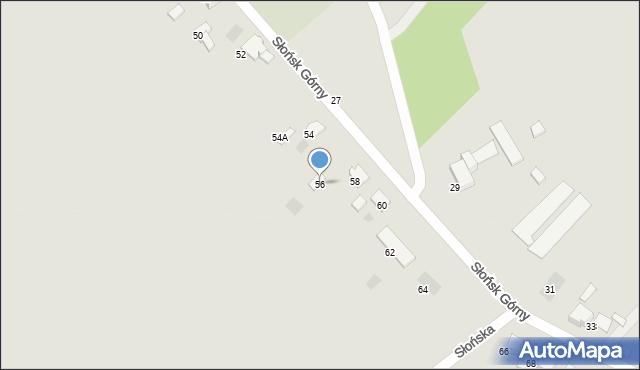 Ciechocinek, Słońsk Górny, 56, mapa Ciechocinek