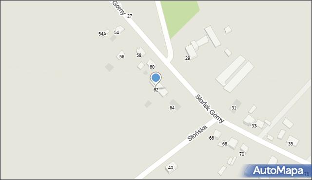Ciechocinek, Słońsk Górny, 62, mapa Ciechocinek