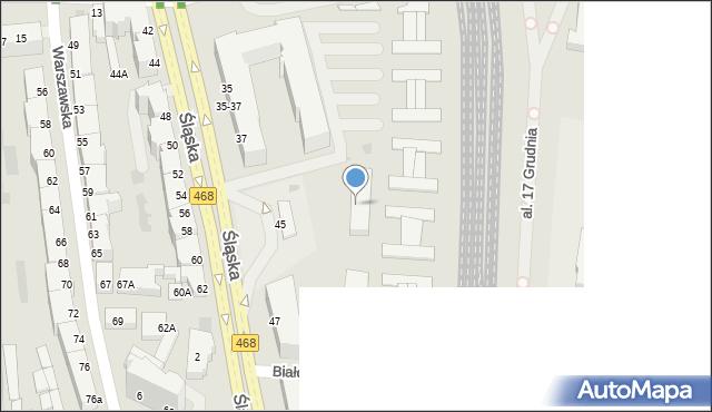 Gdynia, Śląska, 49a, mapa Gdyni