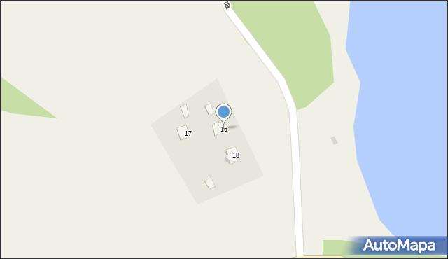Małdyty, Słoneczna, 16, mapa Małdyty