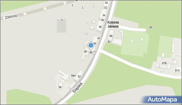 Świętochłowice, Śląska, 46, mapa Świętochłowice