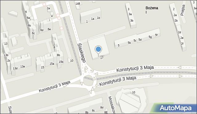 Toruń, Ślaskiego Ludwika, 7, mapa Torunia