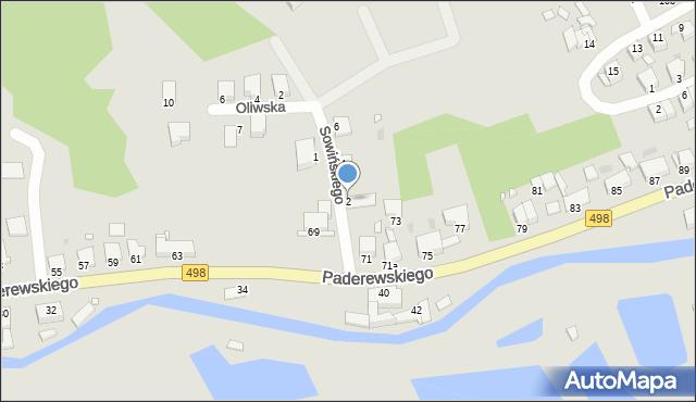 Grudziądz, Sowińskiego Józefa, gen., 2, mapa Grudziądza
