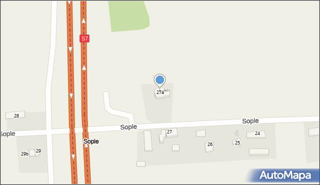 Sople, Sople, 27a, mapa Sople