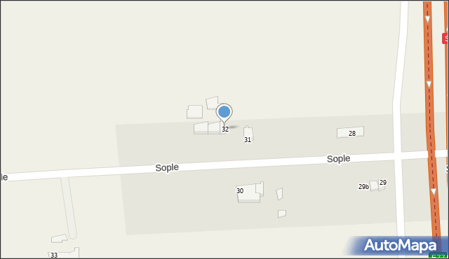 Sople, Sople, 32, mapa Sople
