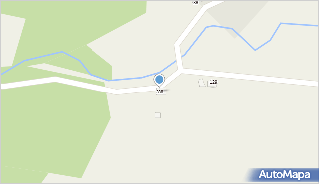 Sowliny, Sowliny, 338, mapa Sowliny