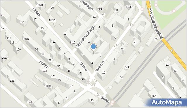 Warszawa, Solec, 10, mapa Warszawy