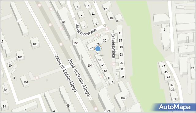 Warszawa, Sobieszyńska, 20, mapa Warszawy