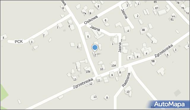 Bytom, Sportowa, 2, mapa Bytomia
