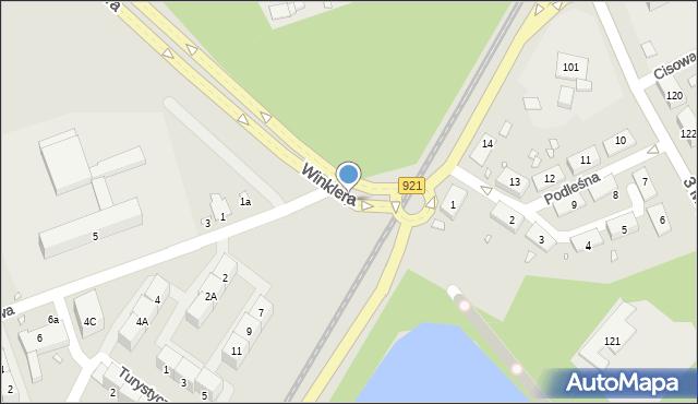 Zabrze, Sportowa, 2c, mapa Zabrza