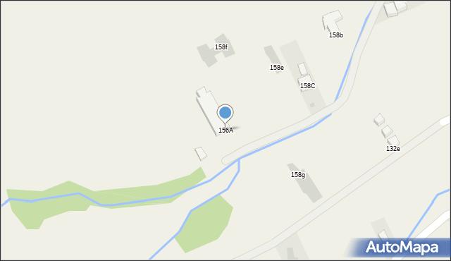 Białka Tatrzańska, Środkowa, 156A, mapa Białka Tatrzańska