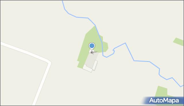 Srebrowo, Srebrowo, 60, mapa Srebrowo