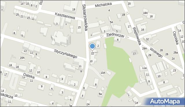 Bytom, Stolarzowicka, 12, mapa Bytomia