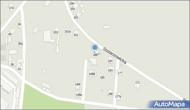 Bytom, Stolarzowicka, 199, mapa Bytomia