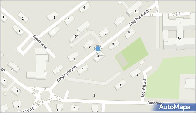 Chełm, Stephensona George'a, 4, mapa Chełma