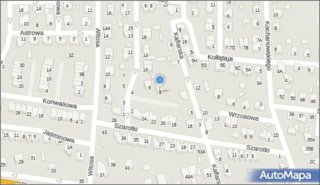 Chełm, Storczykowa, 8, mapa Chełma