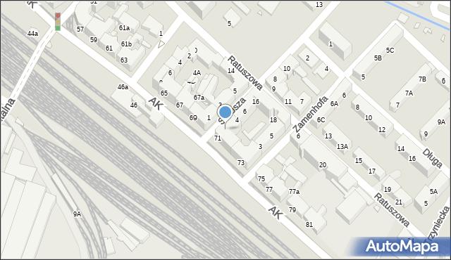Chorzów, Stwosza Wita, 2, mapa Chorzów