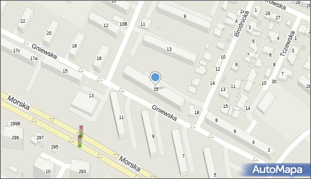 Gdynia, Starogardzka, 15, mapa Gdyni
