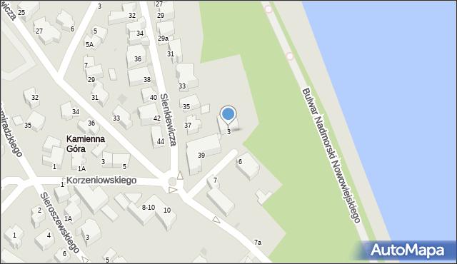 Gdynia, Stwosza Wita, 9, mapa Gdyni