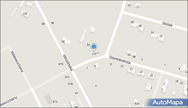 Gdynia, Stankiewicza Mamerta, kpt., 1-3, mapa Gdyni