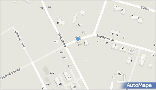 Gdynia, Stankiewicza Mamerta, kpt., 2, mapa Gdyni