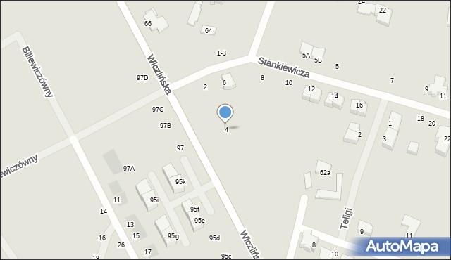 Gdynia, Stankiewicza Mamerta, kpt., 4, mapa Gdyni