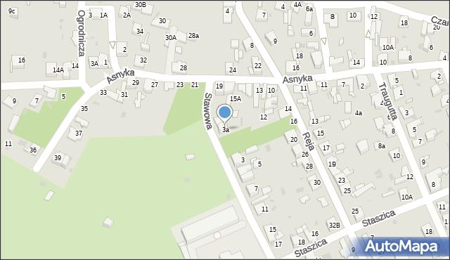 Jaworzno, Stawowa, 3a, mapa Jaworzno