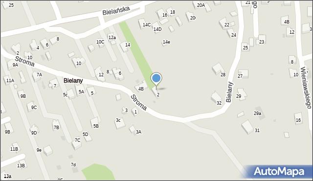 Jaworzno, Stroma, 4a, mapa Jaworzno