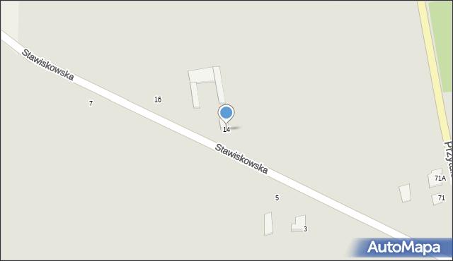 Jedwabne, Stawiskowska, 14, mapa Jedwabne