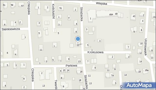 Kębłowo, Strażacka, 12, mapa Kębłowo
