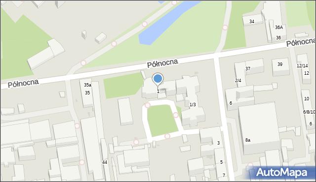 Łódź, Sterlinga Seweryna, dr., 1, mapa Łodzi